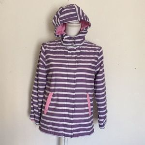 Boden Mini Nylon Jacket With Removable Hood 11-12Y